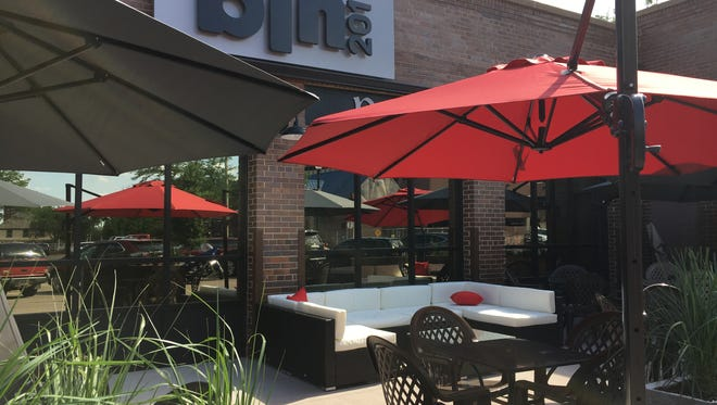 Bin 201 has added a 42-seat patio for its wine bar patrons.