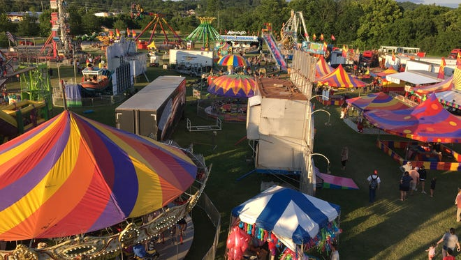 The 2018 Summerfest Festival is scheduled for June 5 through June 9 from 6 p.m. to 10 p.m. each day at Riverbluff Park.