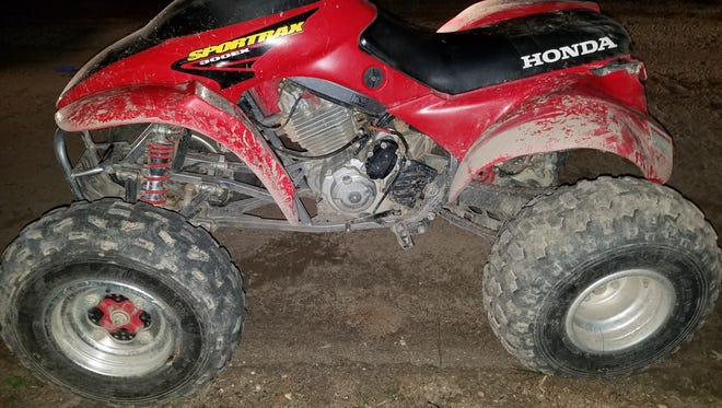 An ATV crash hospitalized a Manchester woman June 9, police said.