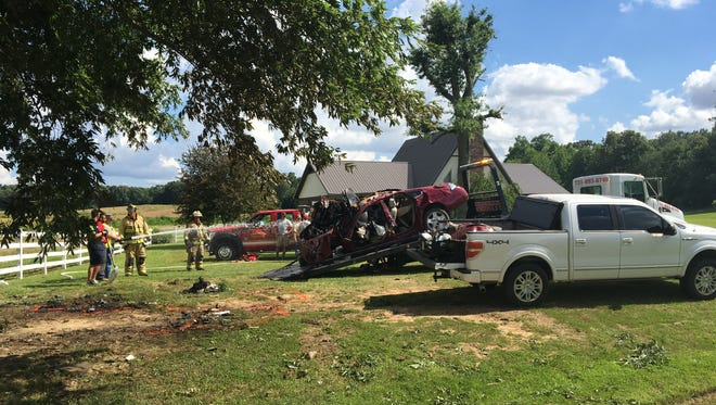 Tennessee Highway Patrol is investigating a fatal crash on Trezevant Highway outside Bradford Tuesday afternoon.