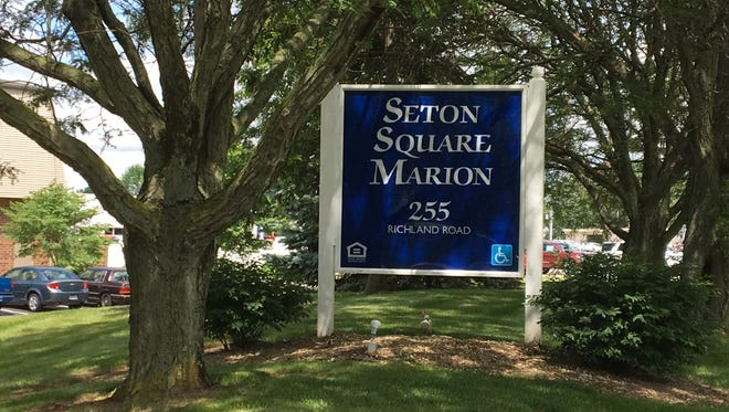 Seton Square Marion, seen on Thursday, June 15, 2017, is located at 255 Richland Road. The housing community has been without air conditioning since mid-April.
