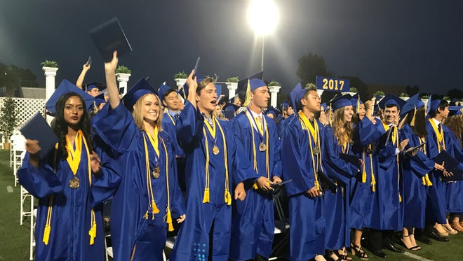 Agoura High School celebrated its 2017 commencement ceremony with 540 graduates.