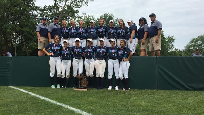 The Richmond softball team finished the season as the runner-up in Division 2.
