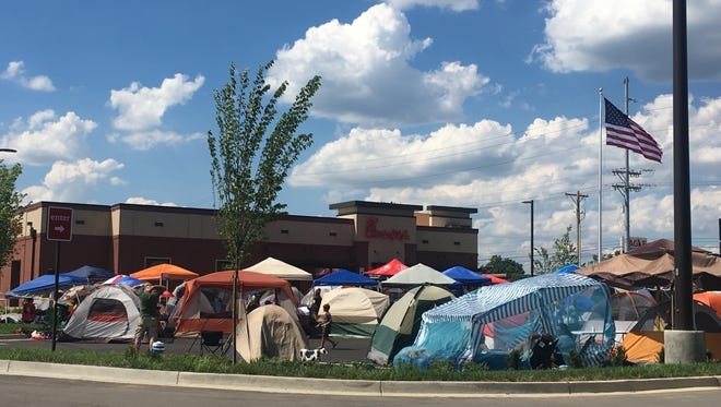 The new Bardstown Road Chick-fil-A location during its First 100 event.