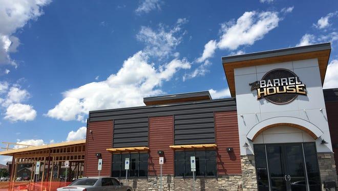 The Barrel House is adding a three-season patio.