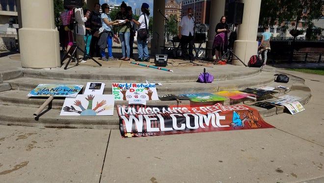 Refugees from around Milwaukee gathered to celebrate