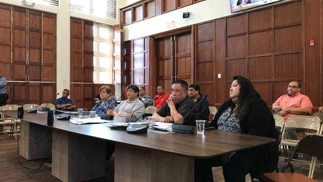 The Mayors' Council of Guam appear before the lawmakers Thursday morning to answer questions about the nearly $180,000 in travel costs it's racked up since fiscal 2015.