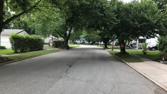 Brown Court in Riverdale is one of the streets included in an upcoming sewer connection expansion in the borough.