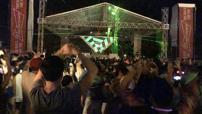 A night of Electric Island Festival fun at the Guam International Raceway in Yigo on Jun. 24.