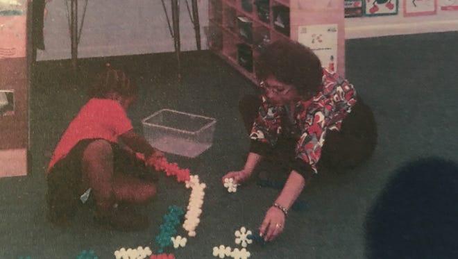 Luz Mercadal De Moore's experience as a Head Start reinforced that most preschool kidslearnby playing.