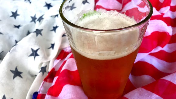 Celebrate the Fourth of July with some patriotic suds.