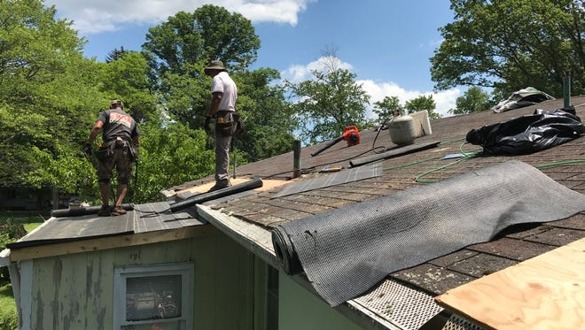 Home projects that are eligible include new roofs, heating system repairs and repairs of water damage.