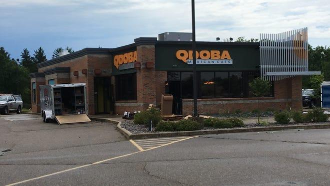 Qdoba will open its Stevens Point location at 5347 U.S. 10 on July 13, 2017.