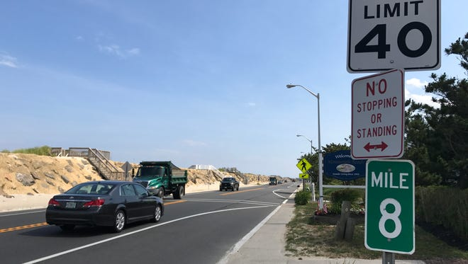 The state Department of Transportation is considering reducing the speed limit on Route 36 in Monmouth Beach.