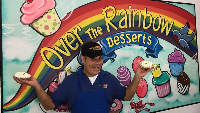"""Over the Rainbow pastry chef Roman Blas will be featured on """"The Baker Sisters"""" on Food Network Canada. The bakery will be closed June 13, 2017 for filming."""