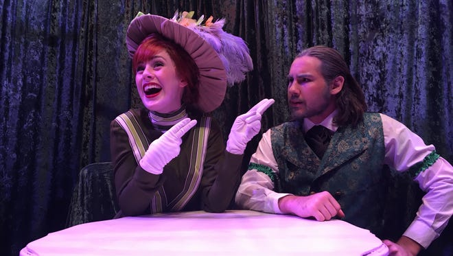 "Kayley McConnaughey  and Tristan Beck star in TCOE's ""Hello, Dolly."""
