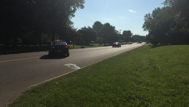 Jackson police are investigating a homicide on the 60 block of East University Parkway Thursday morning.