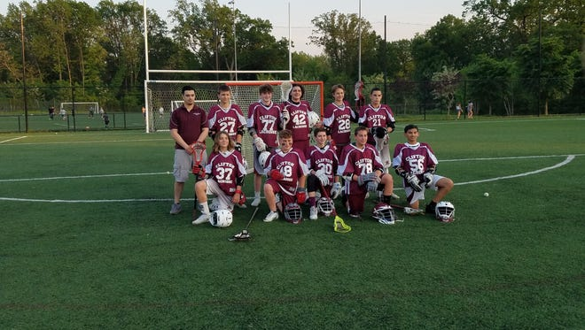 This spring the junior program finished 8-6, advancing to the North Jersey league semifinals after knocking out Chatham, 9-4, in the first round.