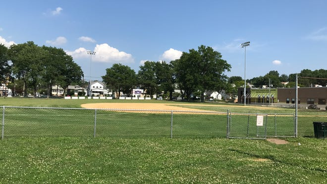 Columbus Park, where the Babe Ruth baseball league plays, could be the next property up for redevelopment.