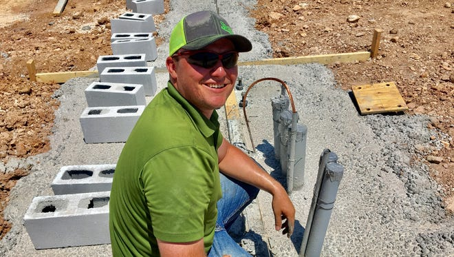 Who better to ask what's being built than Trey Dunn, the construction superintendent?