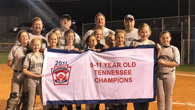 Bethesda softball will represent Tennessee in a regional tournament.