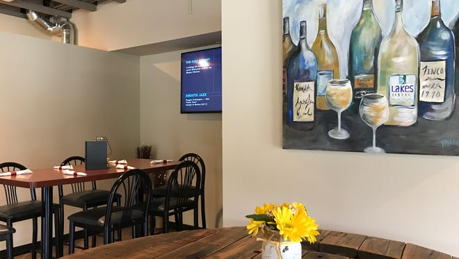 Guests can reserve space for small parties at 3 Lakes Bistro in Rome, Wisconsin.