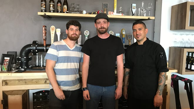 Chris Engleby, Justin Baker and Dov Goldenberg recently opened Rogue River Taproom in Indialantic.