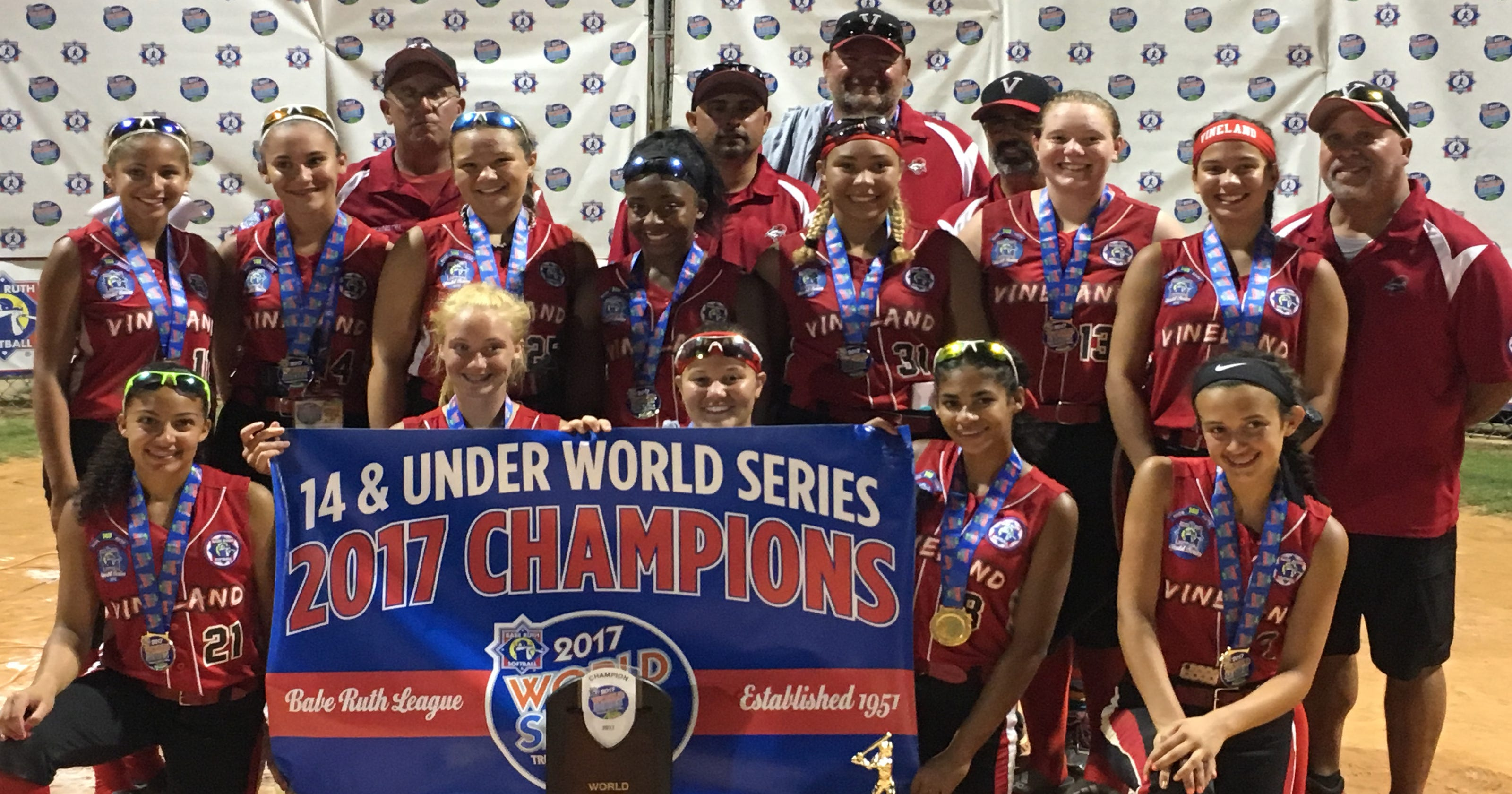 Softball: Vineland Pigtail 14U All-Stars win national title in Babe