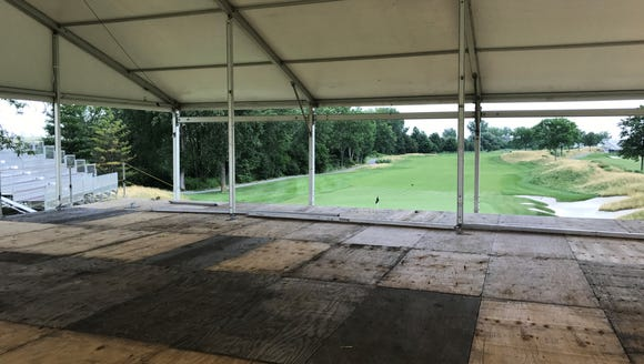 Construction of a hospitality structure on the 11th