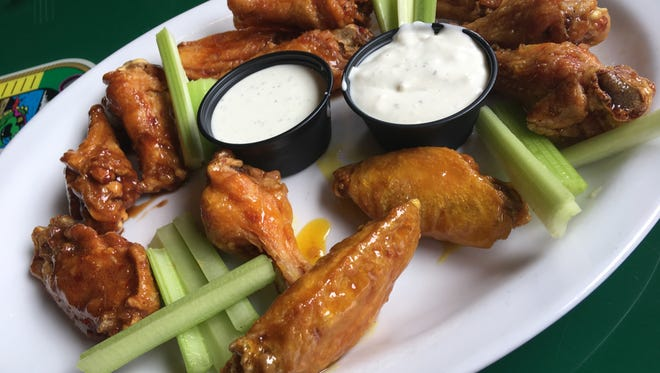 Gator's Dockside in Melbourne does chicken well. Wings they are meaty, with a nicely crisp exterior.