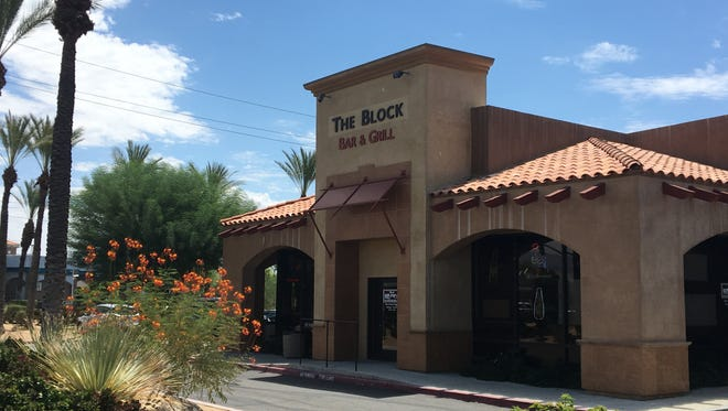 A Cathedral City man was shot while celebrating his wife's birthday at The Block Sports Bar & Grill in Cathedral City on July 26. It was the second shooting at the sports bar in 2017.