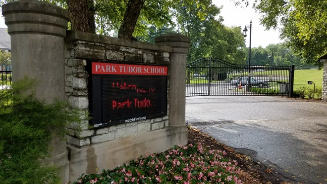 Park Tudor School is located at 7200 N. College Ave, in Indianapolis, Tuesday, Aug. 1, 2017.