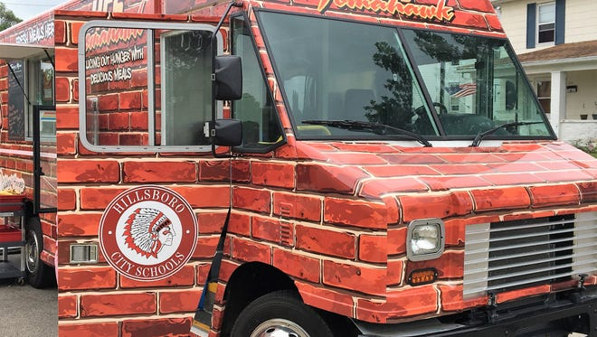 The Hillsboro City Schools Tomahawk food truck served 16,000 meals this summer.