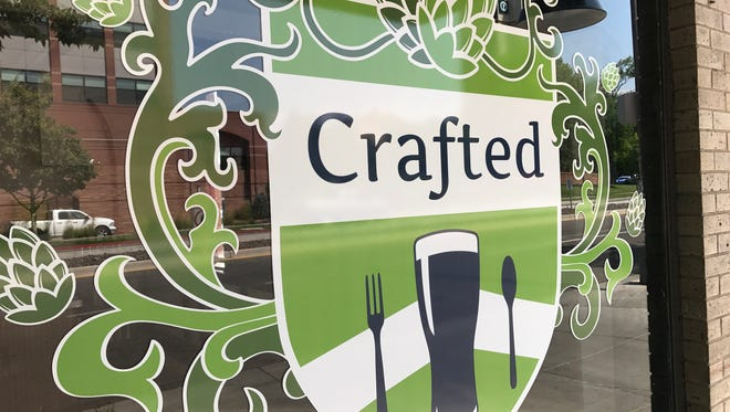 A new tapas and craft beer bar in Fort Collins called Crafted opened on Thursday.