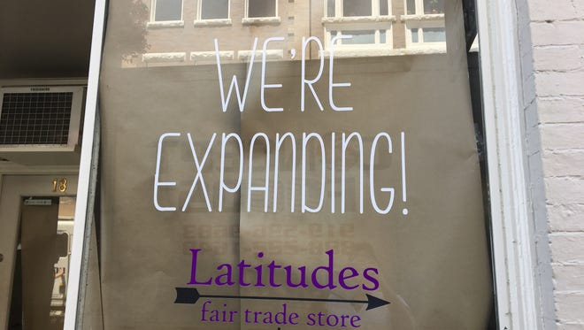Latitudes, a fair trade store in downtown Staunton, is expanding its business to another storefront next to its current one. The expansion will allow for more products to be sold and a larger overall store.