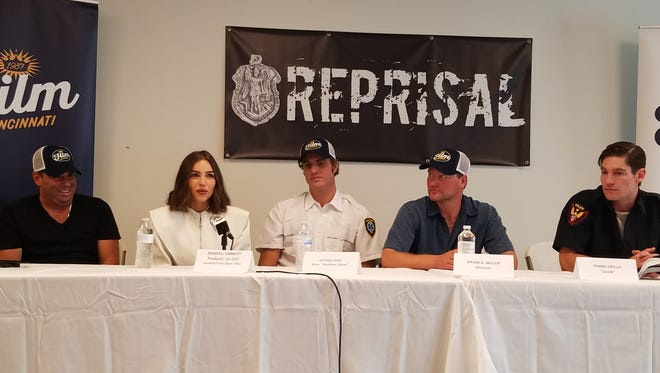 """""""Reprisal"""" cast and crew talk baseball, architecture and future films."""