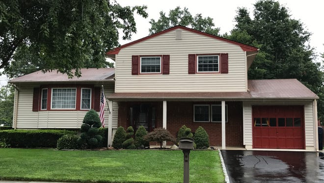 This updated split-level home has four bedrooms, a family room with sliding glass doors to a private patio, and two updated baths. It will be open from 1 to 4 p.m. Sunday, Aug. 20.