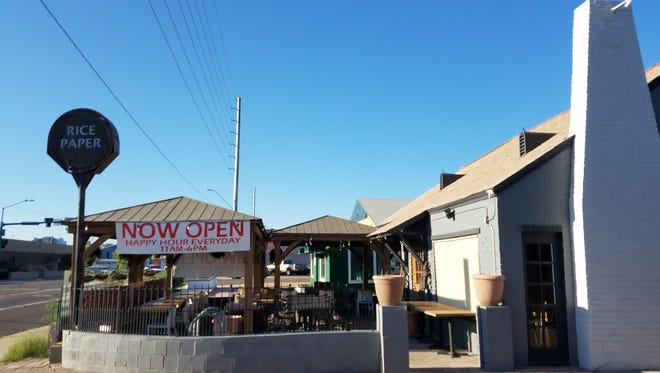 Rice Paper has reopened at a new location just north of the original spot on Seventh and Oak streets in central Phoenix.