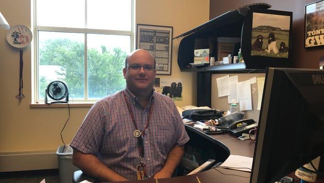 Aaron Willis, a Salisbury University assistant professor of social work, will head the new HOPECorps initiative.