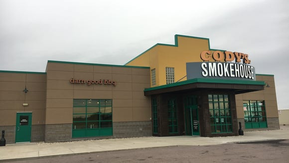 Cody's Smokehouse is open on South Louise Avenue serving