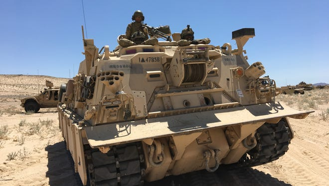 Soldiers from Fort Bliss' 2nd Brigade were thoroughly tested during their time at the National Training Center at Fort Irwin, Calif.