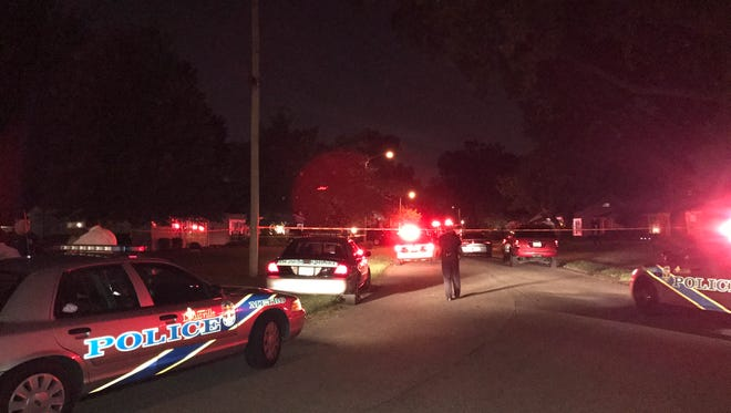 Police are responding to a reported shooting in the Lynnview neighborhood.