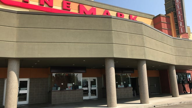 Cinemark 14 movie theater is closed until a water pipe that burst on the second floor is repaired.