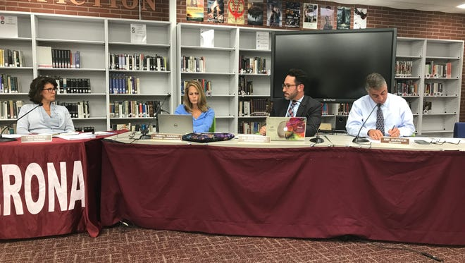 The Verona Board of Education held its meeting on Tuesday, Aug. 29.