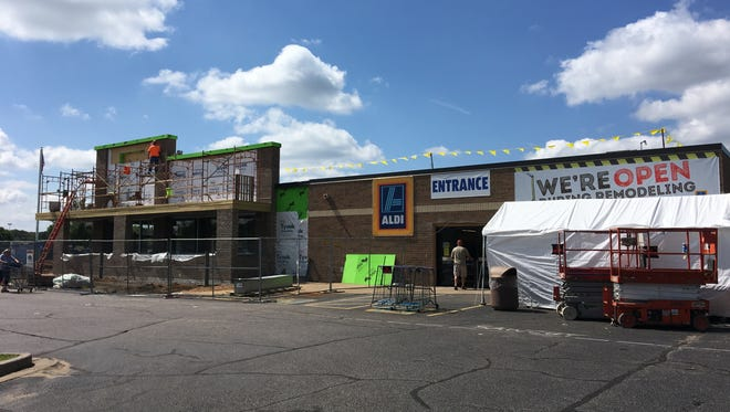 Aldi in Stevens Point is now closed until Oct. 4, 2017 due to renovation work.