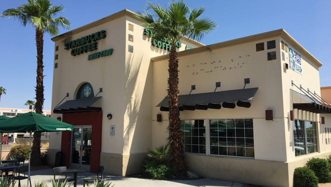A customer suffered cardiac arrest Aug. 14 while at the Starbucks on South Palm Canyon Drive in Palm Springs. An employee is credited with performing CPR and saving the man.