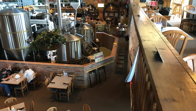 Since 1999 the Delafield Brewhaus has been welcoming many local regulars, but the restaurant also gets plenty of guests flying by on I-94.