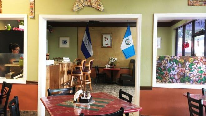 Interior of Tikal Cafe, 107 Radio Road.