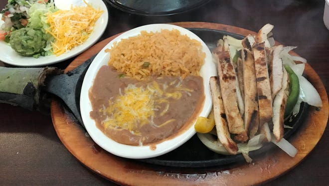 In this file photo, a chicken fajita lunch plate is seen from El Sancho restaurant in Iowa Park. The restaurant announced Monday they are closing permanently.
