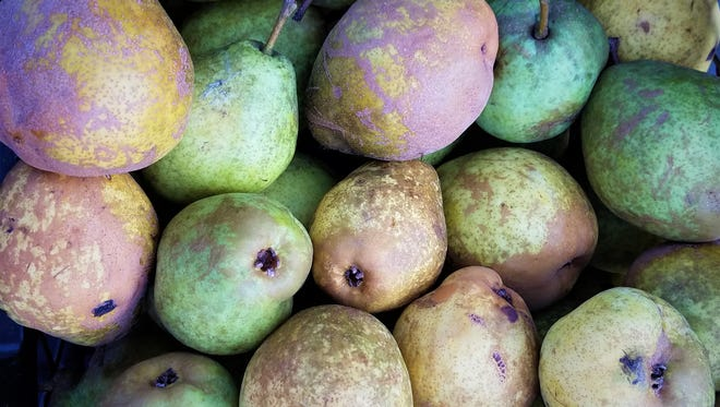 Local pears ripen in late summer and fall. Don't let apples steal the show from these sweet and juicy delicacies.